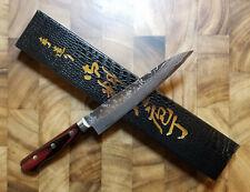 Yoshimi Kato VG10 Damascus 150mm Japanese Petty Knife - Western Handle