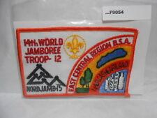 EAST CENTRAL REGION 14TH WORLD JAMBOREE 1975 F9054