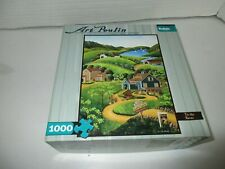 Buffalo Art Poulin American Heritage Painter 1000 Piece Puzzle To The Barn