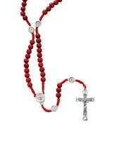 CONFIRMATION ROSARY WITH HOLY SPIRIT JUNCTION AND BEADS