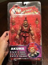 Sota Street Fighter Akuma RED GI VARIANT Rnd 4 Action Figure! SUPER RARE! MINT!