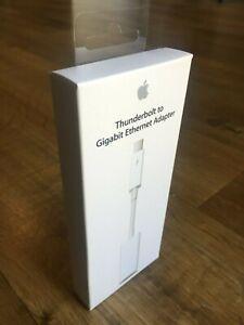 Apple Adaptateur Thunderbolt vers Gigabit Ethernet A1433 MD463ZM/A