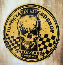Rythm High Octane amarillo Pegatina Sticker Hotrod & Muscle Car estados unidos rockabilly