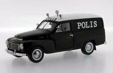 PREMIUM X 1955 Volvo PV445 Duett Swedish Polis Van Police PremiumX 1/43