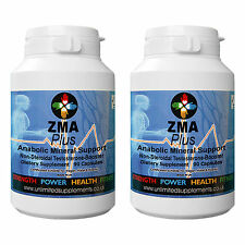 ZMA STRONGEST  ANABOLIC TESTOSTERONE BOOSTER ZINC MAGNESIUM B6 MUSCLE GROWTH 180