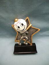 Baseball little pal trophy resin full color award Lpr01