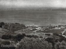 1926 Vintage Print CALIFORNIA San Diego Bay Seascape Photograph Art ~ E.O. HOPPE