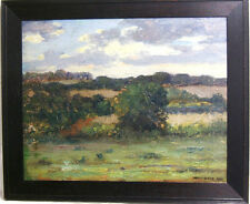 Ben F. Lloyd ( American 20th c. ) Landscape Oil Painting dated 1911