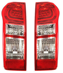 *NEW* TAIL LIGHT LAMP (GENUINE LED)  for ISUZU D-MAX DMAX  9/2014 - 2019 PAIR