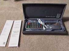 Lunt - The Silver Remote - Silver Plated - URC 11B-4 - Universal Remote