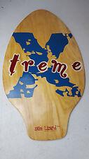 2007 Skim Lizard Xtreme Wooden Skimboard Paddle Kick Wave Board JRG COPA