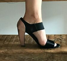 PRADA Sandali Con Tacco Alto Seta Taglia 39.5