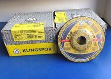 KLINGSPOR 25 x TRENNSCHEIBEN 125 x 2,5 x 22,23 A 24 EXTRA -METALL