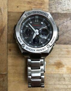 Casio Gshock Gsteel G-steel GST-W1100D Solar Radio Control Watch Mens Wristwatch