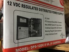 12 VDC Regulated Distributed Power Supply 4 Amp Continuous Current DEL Indicator