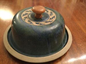 Studio Pottery Stoneware Cheese Dome