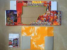 Transformers Rid 2000 Box & paperwork Super Fire Convoy optimus prime Takara