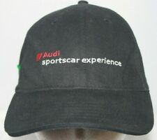 Audi Sportscar Experience Fitted Cap S/M Black Embroidered Spell Out