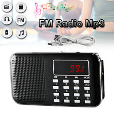 High Quality  AM/FM Radio MP3 Music Player MicroSDCard Media Portable Speaker