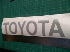 Toyota....Door.. car vinyl decal sticker ....x2..