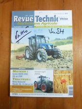 TN 60 70 75 DA SA Revue Technique Agricole New Holland Etat - Bon Etat Occasion