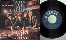 Rolling stones - Con le mie lacrime/Heart of stone