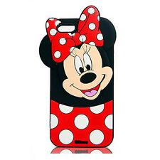 3D Disney MinnieLes Housses Coques Silicone Gel Souple de Pour Samsung Huawei LG