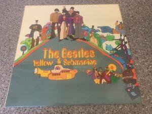 The Beatles Yellow Submarine A1 B1 1st Press Rare Original UK LP