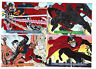 DC Bloodlines 1993 Trading Card Sub Set Of 4 Embossed Cards DC Comics