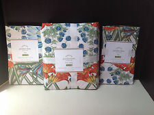 Pottery Barn Paradise King Duvet Cover & 2 King Pillow Shams New with Tags