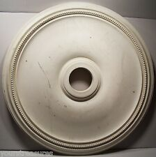 """BALMER"" 23 3/4 in. DECORATIVE POLYURETHANE CEILING MEDALLION #278 USED"