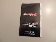 2013 Mercury 2.5 / 3.5 PS 1Zyl-4Takt owner s manual Betriebs anleitung Handbuch
