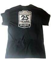 Glock Perfection Size L Black Shirt Logo t-shirt 25 Years Anniversary 1986-2001