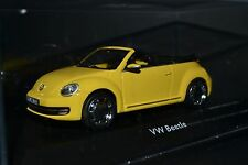 VW New Beetle Convertible 2013 in scale 1/43 limited edition