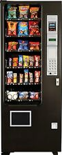 Slim Gem Candy, Chip & Snack Vending Machine, 24 Select Ams Coin & Bill Changer