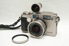 CONTAX G2 - Carl Zeiss Biogon 2.8 21mm - viseur - filtre
