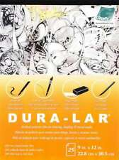 "New listing Dura-Lar Matte .005 Pad 9""X12"" 25 Sheets 096701123148"