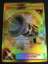 Pokemon : SM CRIMSON INVASION COUNTER CATCHER 120/111 SECRET RARE CRIMPED ERROR