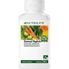 NUTRILITE Einmal Täglich Großpackung | Daily | 180 Tabletten | Amway | Amava