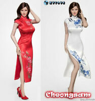 "ZYTOYS 1/6 Chinese Cheongsam Dress Clothes Model ZY5034 for 12"" Female Figure"