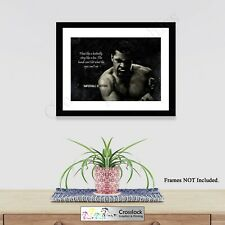 Boxing Legend Muhammad Ali Photo Poster Print ONLY Wall Art A4 Sporting Gift