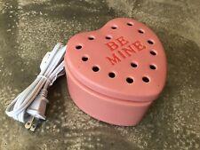 New Genuine Scentsy Be Mine Wax Warmer, Pink Heart