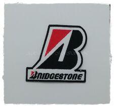 Bridgestone Patch Sew Iron on Embroidered Rubber Tire Racing Logo Car Motor Spor