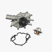 Water Pump + Thermostat Kit Ford F150 F250 F350 Bronco Econoline E150 E250 E350