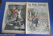 Le petit journal 1905 755 Guerre russo japonaise Mandchourie wagon transsibérien