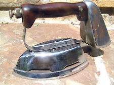 Antique Clothes pressing Gas Iron Akron Diamond Brand