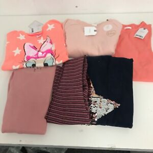 New Next Girls Outfits Kids Age 7 Years X6 Mixed Casual Clothes Bundle  022483