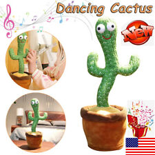 Dancing Cactus Plush Toy Electronic Shake with song cute Dance Succulent Gifts