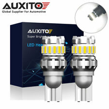 2x AUXITO T15 921 W16W Canbus LED Back up Reverse Light Bulb 2400LM 6500K White