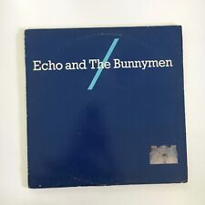 """ECHO AND THE BUNNYMEN  12"""" mini LP classic new wave 1980s orig"""